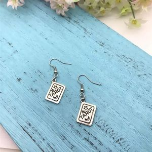Tarot Card Gypsy Gothic Earrings
